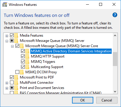 how to create msmq private queue in windows 7